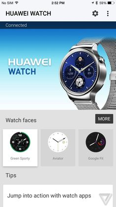 Android Wear smartwatches come to the iPhone | The Verge - Online shopping for Smart Watches best cheap deals from a wide range of top quality Smart Watches at: topsmartwatchesonline.com