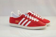 buy popular b62f6 bb608 ADIDAS GAZELLE RED