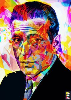 Colorful Pop Art Illustrations by Alessandro Pautasso ... Bogie!