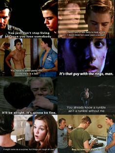 Some good Outsiders scenes <3