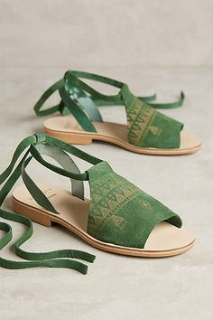 6/4/16 Anthropologie / Howsty Habid Sandals