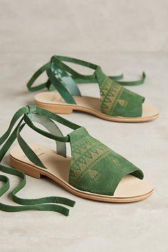 6/4/16 Anthropologie / Howsty Habid Sandals