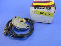 1967-1969 Ford Mustang NOS Neutral Safety Switch FoMoCo Cougar C9ZZ-7A247-B #FoMoCo