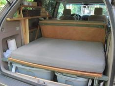 Minivan Camper Conversion, Suv Camper, Mini Camper, Conversion Van, Micro Campers, Camper Life, Truck Bed Camping, Minivan Camping, Camping Gear