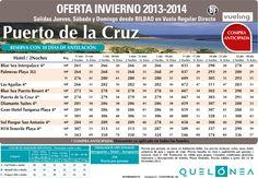 Oferta Puerto de la Cruz Enero-Abril desde 261€, Salidas J, S y D desde BIO con Vueling ultimo minuto - http://zocotours.com/oferta-puerto-de-la-cruz-enero-abril-desde-261e-salidas-j-s-y-d-desde-bio-con-vueling-ultimo-minuto/