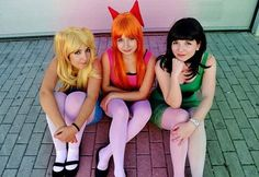 Pin for Later: 3 of a Kind: 21 Trio Costumes to Wear With Your Best Friends Powerpuff Girls