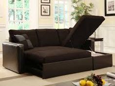 I love this adjustable sectional sleeper sofa with storage chase! This adjustable sectional sofa comes with everything! Storage, separate loveseat, separate chase, sofa bed, sectional sofa…th… Small Sleeper Sofa, Sectional Sleeper Sofa, Futon Sofa Bed, Leather Sectional, Sofa Sofa, Daybed, Black Sectional, Small Futon, Futon Bedroom