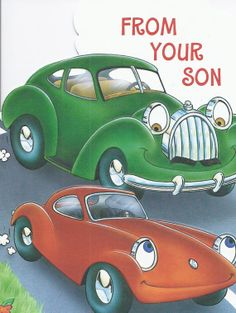 M456 Vintage Happy Father's Day Greeting Card by Hallmark from you son via Etsy.