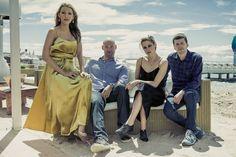 Blake Lively, Corey Stoll, Kristen Stewart, Jesse Eisenberg; <em>Café Society</em>