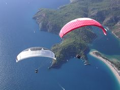 Paragliding at Fethiye Ölüdeniz / Turkey Adventure Awaits, Adventure Travel, Local Festivals, World Travel Guide, Paragliding, Summer Dream, Skydiving, Aerial View, Antalya