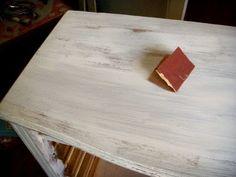 Como fazer pátina provençal em móvel – com passo a passo – Além da Rua Atelier