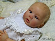 Adopted Babies - Reborn doll,  Le Pistache Nursery