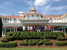 Some of our staff at the Pinehurst golf course.    #golf #ranlifehomeloans