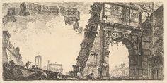 Vintage Wall Art, Vintage Walls, Vintage Posters, Arch Of Titus, Fine Art Prints, Canvas Prints, 1st Century, Architectural Features, Classic Image