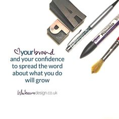 #Loveyourbrand and your confidence to spread the word about what you do will grow... I know this myself when I fell out of love with my business. A rebrand (and some coaching) and I was back where I needed to be. That's because I rushed it (ssssh!!) first time around
