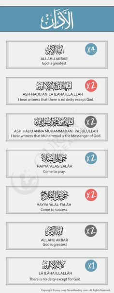 What is the Adhan (Islamic Call for Prayer)? What is the translation?  Get the answers here:
