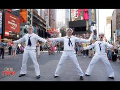 ON THE TOWN performs ON LOCATION in New York, New York! - YouTube
