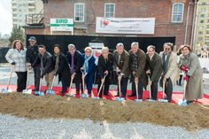 We've broken ground on our new home for compassionate HIV/AIDS care! Watch video at link.