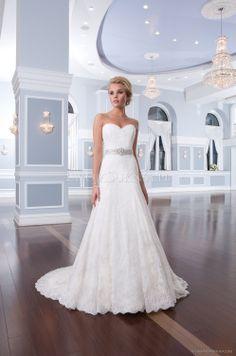 Suknia ślubna Lillian West 6293 2014 - TwojaSuknia.pl
