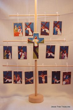 These ornaments are a gorgeous representation of our Lords Passion. This devotion is a series of 14 stations that depict different parts of