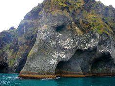 Elephant Rock, Heimaey, Iceland.