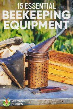 15 Essential #beekeeping Equipment Every #beekeeper Can't Live Without