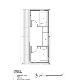 Camping Cabins with Communal Spaces COLORADO BUILDING WORKSHOP | Raine House