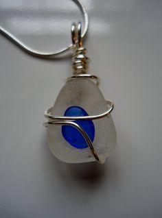 Beachglass Jewelry  Seaglass Necklace  by BeachGlassBaubles, $30.00