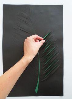 Blog Ohoh - artesanías de bricolaje y: arte de la pared de papel de bricolaje