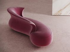 Download the catalogue and request prices of Amphora | day bed By desforma, curved day bed, amphora Collection Funny Furniture, Unique Furniture, Sofa Furniture, Furniture Design, Urban Furniture, Copper Kitchen Accessories, Modern Sofa Designs, Glam Living Room, Curved Sofa