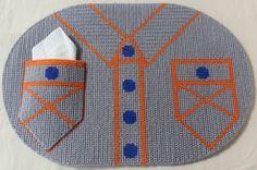 Super cute plastic canvas craft placemat