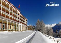 my favourite swiss classic hotel ( thomas mann zauberberg) Best Hotels, My Favorite Things, Nice, Classic, Winter, Outdoor, Image, Holidays, Wedding
