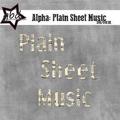 Alpha: Plain Sheet Music