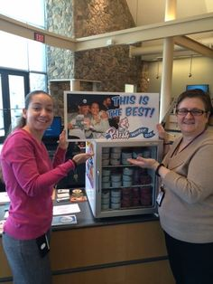 We appreciate our members and to say 'thanks,' our Downingtown branch handed out free Polish water ice.