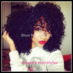 Top Quality! Remy Human Hair Brazilian Front Lace Wigs/Glueless Full Lace Wigs Kinky Curly Wigs for Black Women free shipping $129.00 - 318.00