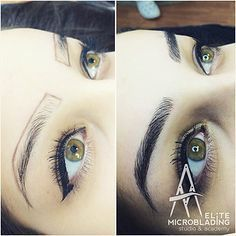 Pinning for the eyeliner lol, but the microblading for eyebrows looks good too.