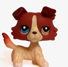 Lps collie she has mixed colored eyes. uuuuuuuuuu!!!!