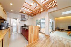つながりを大切にした住宅・間取り(兵庫県神戸市) |ローコスト・低価格住宅 | 注文住宅なら建築設計事務所 フリーダムアーキテクツデザイン