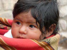 beautiful Peruvian child