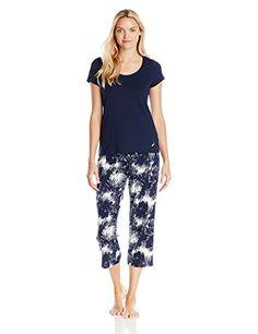 Nautica Sleepwear Women's Knit Pajama Set, Maritime Navy ... http://www.amazon.com/dp/B00TO8125G/ref=cm_sw_r_pi_dp_hCamxb17S4550