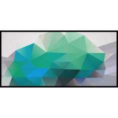 Mount Geo Canvas Print ($180) ❤ liked on Polyvore featuring home, home decor, wall art, paintings, mounted wall art, abstract wall art, abstract home decor and abstract painting