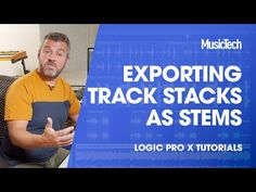How to bounce track stacks as stems in Logic Pro X | MusicTech Logic Pro X, Stems, Things That Bounce, Track, Drift Wood, Trunks, Runway, Truck, Running