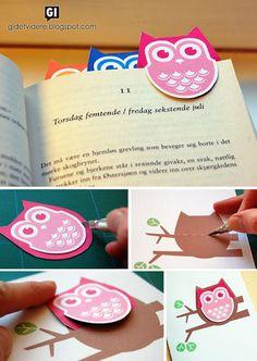 Kidissimo: Des marque-page à imprimer ou à fabriquer soi-même.
