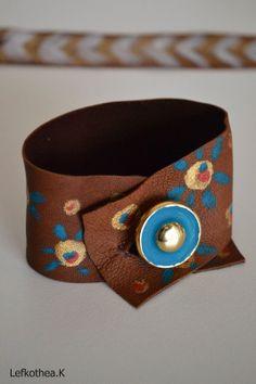 Leather Bracelet Cuff Bracelets, Belt, Leather, Accessories, Jewelry, Jewellery Making, Waist Belts, Jewels, Jewlery