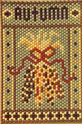 Mini Beaded Banner and Bead Patterns for Sale at Craft Designs for You by Cherie Marie Leck Pony Bead Patterns, Beaded Jewelry Patterns, Peyote Patterns, Beading Patterns, Pony Bead Crafts, Seed Bead Crafts, Beaded Crafts, Tiny Cross Stitch, Beaded Cross Stitch