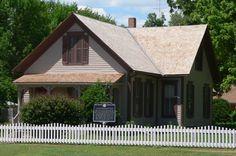 Willa Cather's home Red Cloud, Nebraska
