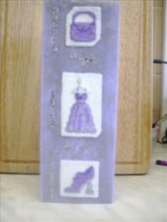 Lavender shopping card