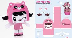 Papertoy Alin by Charuca *(^_^)*   Paper Toy (The Paper Toys Coop)