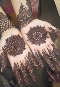 Wedding Henna Designs, Finger Henna Designs, Mehndi Designs 2018, Stylish Mehndi Designs, Mehndi Designs For Fingers, Mehandi Designs, Round Mehndi Design, Simple Arabic Mehndi Designs, Mehndi Design Images