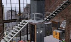 the sims 3 apartment building - Google Search